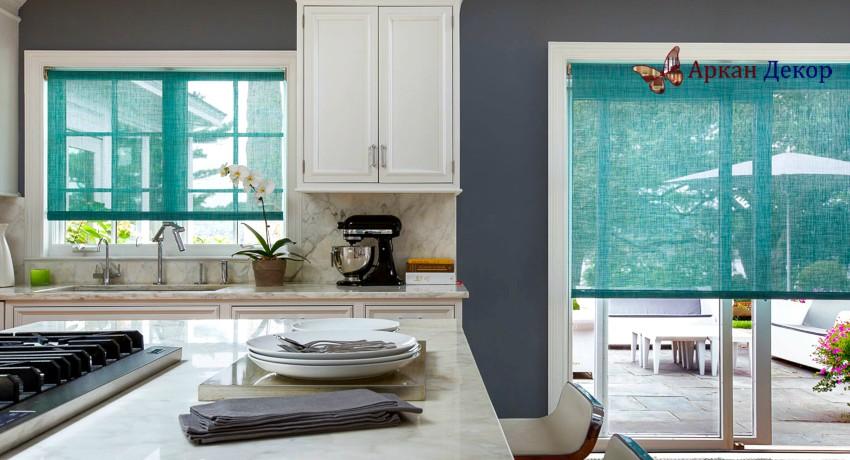 Як вибрати рулонні штори для кухні